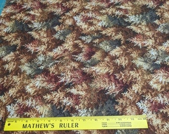 Fall's Canvas Trees-Bronze Cotton Fabric from Fabri-Quilt