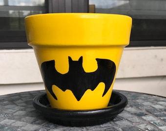 DC Batman Flower Pot