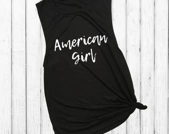 American Girl, muscle tank