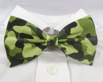 Camouflage bow tie etsy camouflage bow tie camo bow tie army bow tie ccuart Images