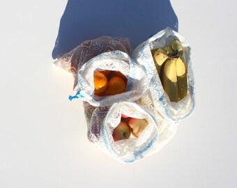 Veggie Bag, Produce Bag, Eco Friendly Kitchen, Hippie Mom, Market Bags, Reusable Produce Bag, Fruit and Veggies, Eco Shopping Bag