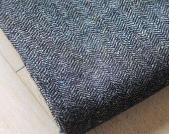 Herringbone Tweed/ Fine Tweed/ Craft Supplies & Tools/Fabric/Upholstery/Sewing/Haberdashery (008N)