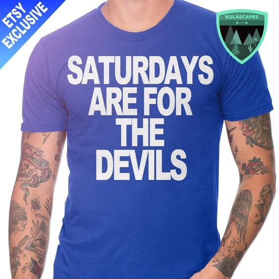 Official Saturdays Are For Devils Duke Shirt Official Duke