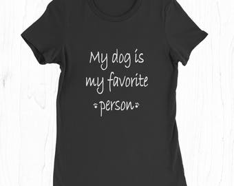 Dog Person Tee - Funny Dog T-shirt - Gifts for Dog Lover - Dog Lover Gift - Dog Owner Shirt - Funny Pet Shirt