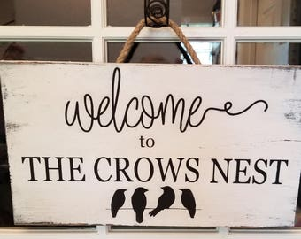 Welcome Personalized sign/Family Sign/Door Sign/Custom Family Sign/Personalized last name sign