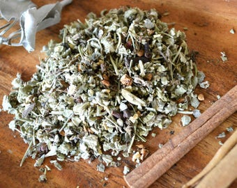 Cold and Flu Loose Leaf Herbal Tea Blend - Sick Spell
