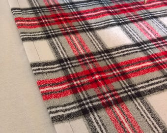 Buffalo Plaid Flannel Table Runner Red Amp Black Flannel Table
