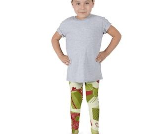 Kids Christmas leggings, cool kids leggings, funky kids leggings, cool kids clothes