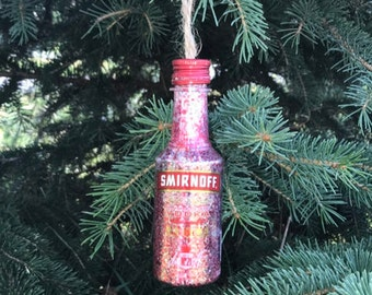 Smirnoff vodka Christmas ornament