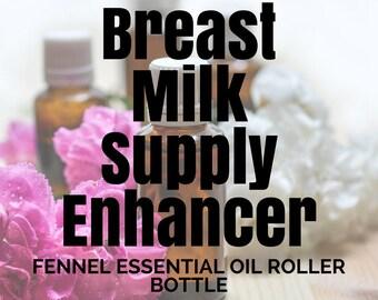 Fennel Essential Oil in a Roller Bottle // 10ml // Breast Milk Supply // Breast Milk Supplement // Nursing // Breast Milk Enhancer