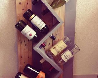 Support 8 wine bottles