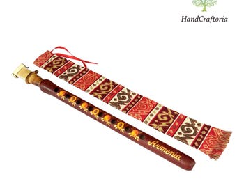 Professional Armenian DUDUK Apricot Wood Armenian Oboe Balaban Woodwind Instrument - free Gift national case with Playing Instruction