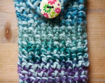 Crochet Smartphone Case cellphone wallet