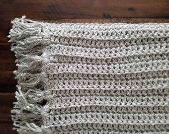 Throw Blanket | Throw | Crochet Throw | Crochet Throw Blanket | Crochet Afghan | Afghan | Afghan Blanket | Living Room Decor | Home Gifts