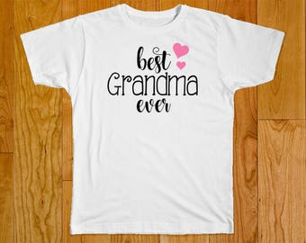 Best Grandma Ever - Great for Grandma Gifts - Customized to Fit Your Needs!