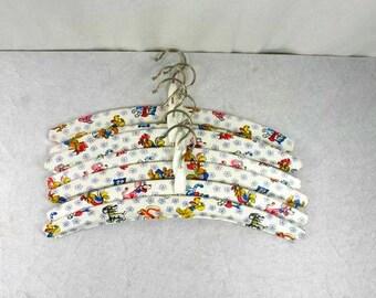 Set Of 7 Vintage Childrens Coat hangers Vintage Hangers Coat Hangers Clothing Hangers