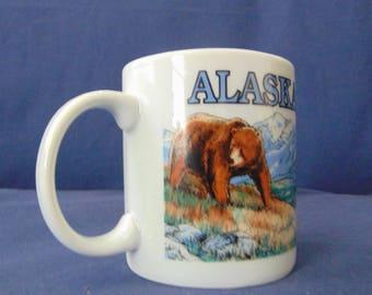Alaska Mug , Alaska Bears Mug , Bears Mug