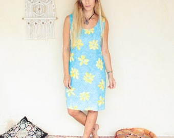 Vintage 90's Daisy Print Dress