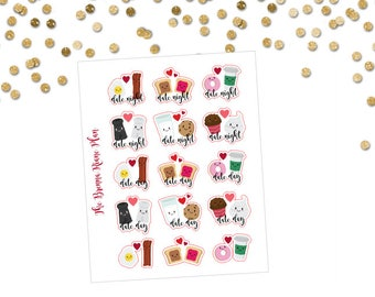 Date Night/Day | Planner Stickers