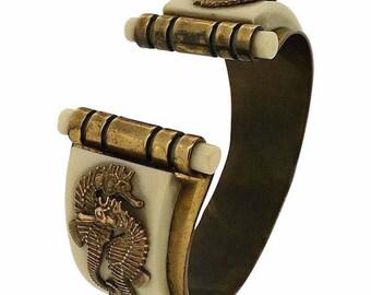 Jean Painlevé 1930s Seahorse Design Vintage Bangle