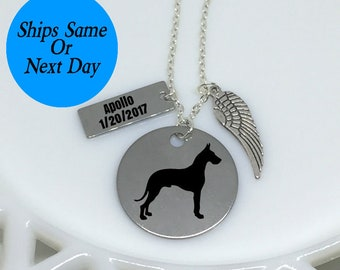Dog Breed Necklace, Dog Breed, Dog Necklace, Pet Memorial Necklace, Pet Necklace, Pet Jewelry, Dog Memorial, Pet Memorial, Pet Loss Jewelry