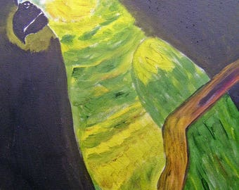 Budgie - Parakeet Painting Painting