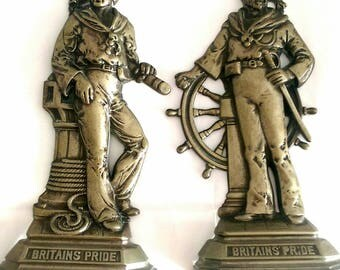 Pride of Britain Collectible Brass Plaques - 2 Styles (216)