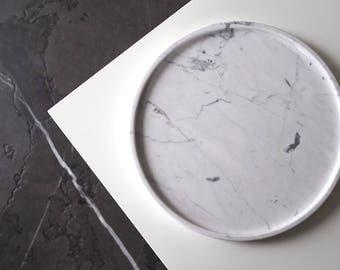 Marble Tray Etsy