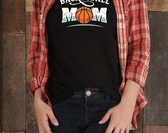 Basketball Mom Shirt, Basketball Mom, Basketball Mother Shirt, Basketball Mommy, Basketball Mom Tee, Sports Mom, Basketball Mom Gift