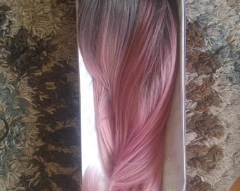 Rosequart Dreams color melt synthetic wig