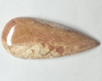 Crazy Lace Agate Pear Designer Cabochon, Natural Crazy Lace Agate, Loose Cabochon, Smooth, AAA, Gemstone, Size- 41x17x5 MM, 31 CTS
