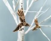 Norse Raven Earrings