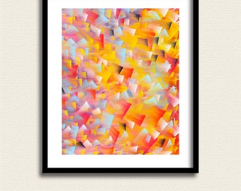 Abstract Expressionism 4 – Abstract Art - Original Art - Downloadable Art Print - Instant Download –  Wall Decor