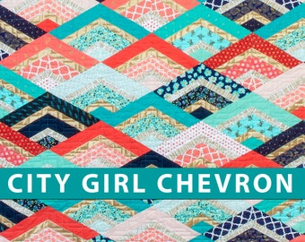 Chevron quilt | Etsy : chevron quilts for sale - Adamdwight.com