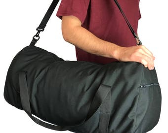 "Large 28"" Curved Duffel bag with 1000 Denier Cordura Nylon (Handmade In California)"
