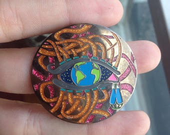 Eye of the World Pin