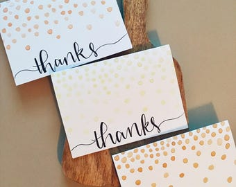 Thank You Cards (Set of 3)