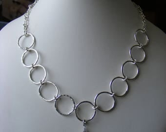 925 Sterling Silver Necklace - Hallmarked