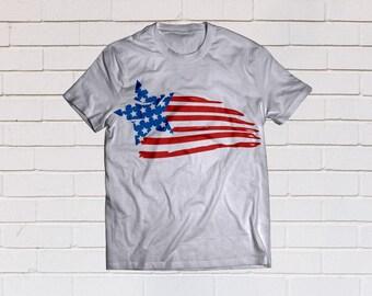 American flag svg, Usa flag svg, Patriotic svg, Distressed svg, SVG Files, Cricut, Cameo, Cut file, Files, Clipart, Svg, DXF, Png, Pdf, Eps