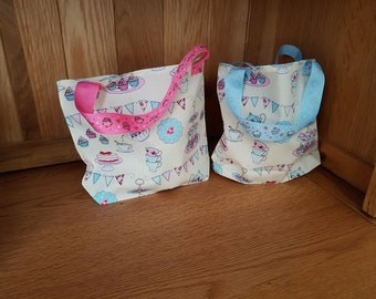 Afternoon Tea Fabric Gift Bags