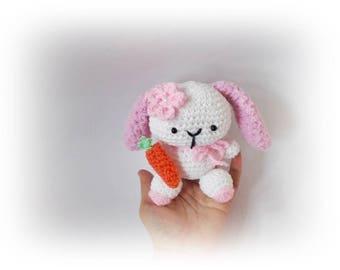 Crochet bunny, Amigurumi toy, Amigurumi rabbit, Easter Bunny stuffed animal, Crochet Bunny, amigurumi bunny, Stuffed Animal, crochet animals
