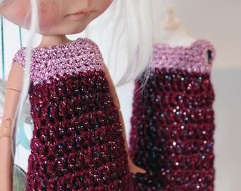 Wine & sparkling pink dress
