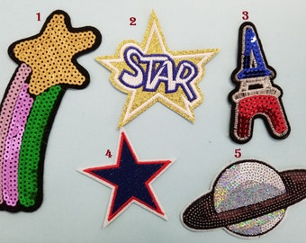 Different style of patches