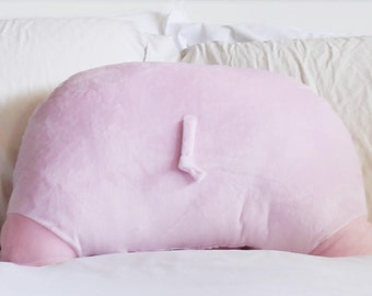 PRE-ORDER: Pig Booty Pillow - Back Pocket - Pig Butt - Pig Gifts - 22 x 16 in