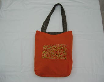 Cotton Tote Bag Reversible