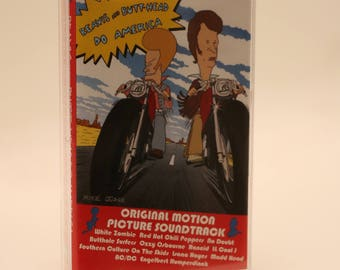 Beavis and Butt-Head Do America Original Soundtrack Cassette Tape 1990s Butthead Mike Judge Morris P Johanson Joe Stillman