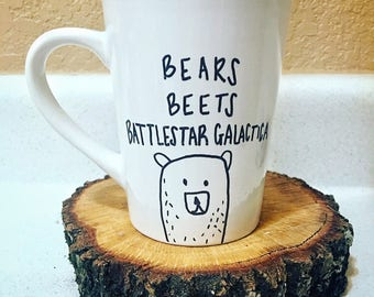 Bears, Beats, Battlestar Galactica Coffee Mug