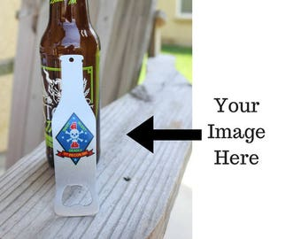 Personalized Beer Bottle Opener - Customized Bottle Opener - Logo Bottle Opener - Promotional Product - Personalized Wedding Gift
