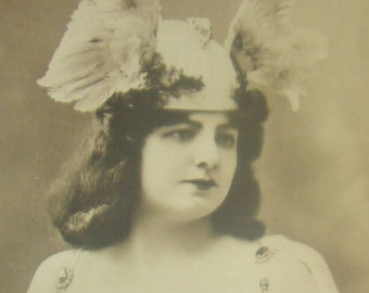 Nice Vintage/Antique Theater Postcard