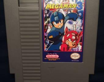 Mega Man 3 The Battle Of Gamma NES Game